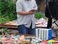 Das Angebot an Büchern...